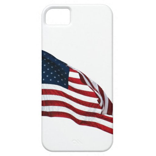 Caso de Barely There iPhone4 de la bandera america iPhone 5 Coberturas