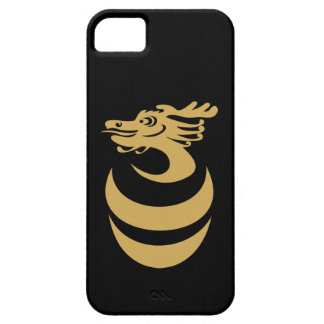 Caso de encargo del fondo IPhone4 del dragón del iPhone 5 Case-Mate Cobertura