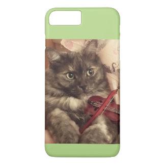 Caso de encargo del gato musical por RoseWrites Funda iPhone 7 Plus