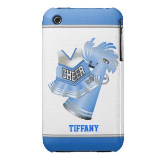 Caso de encargo del iPhone 3G de la animadora azul Funda Para iPhone 3