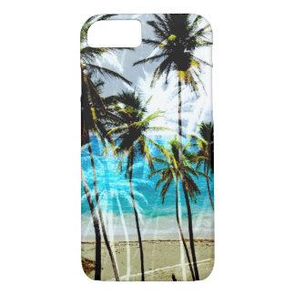 Caso de encargo del iPhone 7 del océano tropical Funda iPhone 7