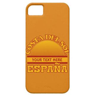 Caso de encargo del iPhone de Costa del Sol iPhone 5 Case-Mate Funda
