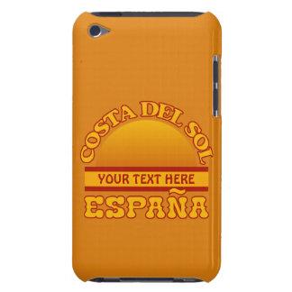 Caso de encargo del tacto de Costa del Sol iPod Funda Para iPod