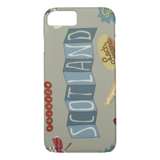 Caso de Escocia Funda iPhone 7
