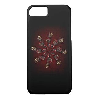 Caso de giro del iPhone de la flor Funda iPhone 7