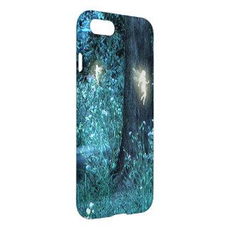 Caso de hadas del iPhone 7 del bosque de la noche Funda Para iPhone 7
