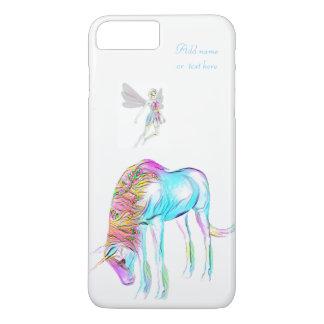 Caso de hadas del iphone 7 del unicornio funda iPhone 7 plus