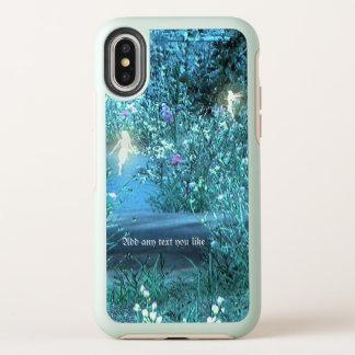 Caso de hadas del iPhone del iPhoneX del bosque de