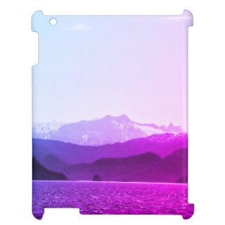 Caso de Ipad de las montañas púrpuras