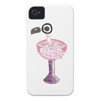 Caso de IPhone 4 del cóctel del flamenco Carcasa Para iPhone 4 De Case-Mate