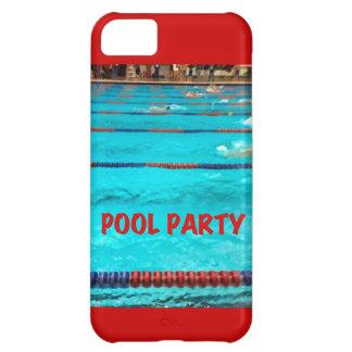 Caso de IPhone 5 de la fiesta en la piscina Funda Para iPhone 5C