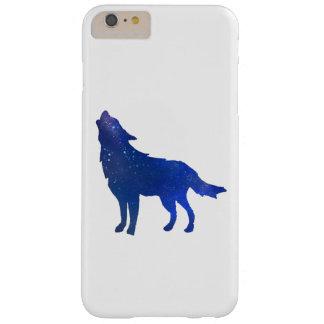 Caso de IPhone 6 del lobo Funda Barely There iPhone 6 Plus