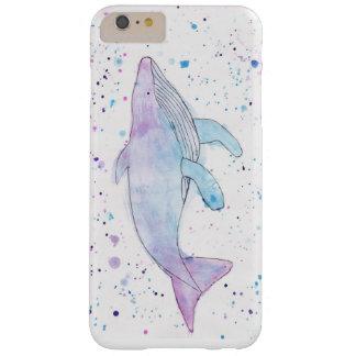 Caso de IPhone 6s plus/6 de la ballena jorobada Funda Barely There iPhone 6 Plus