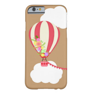 Caso de Iphone con impulso candente del aire Funda Barely There iPhone 6