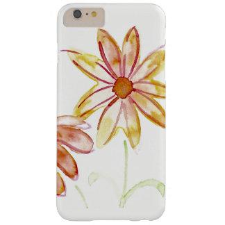 Caso de Iphone de la margarita de la acuarela Funda Barely There iPhone 6 Plus
