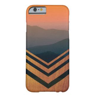 Caso de Iphone de la opinión de madera y de la Funda Barely There iPhone 6