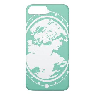 Caso de Iphone de la silueta del camafeo Funda iPhone 7 Plus