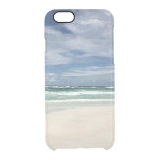 Caso de IPhone de la vida de la playa Funda Transparente Para iPhone 6/6s