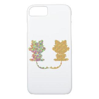 Caso de Iphone de los gatos Funda iPhone 7