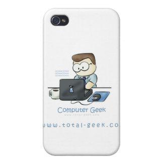 Caso de Iphone del friki del ordenador iPhone 4 Cárcasa