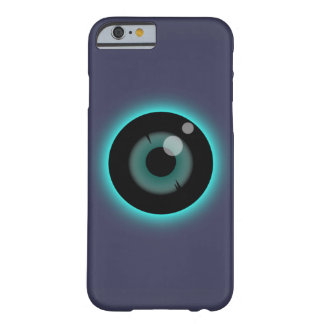 Caso de IPhone del ojo azul, ojo del monstruo Funda Barely There iPhone 6