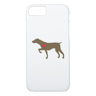 Caso de Iphone del perro del logotipo de Funda Para iPhone 8/7