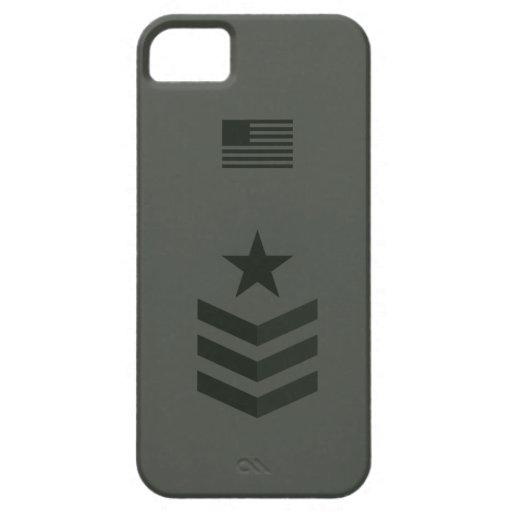 Caso de la fila militar iPhone 5 Case-Mate coberturas
