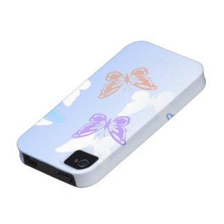 caso de la mariposa Iphone4S Vibe iPhone 4 Carcasa