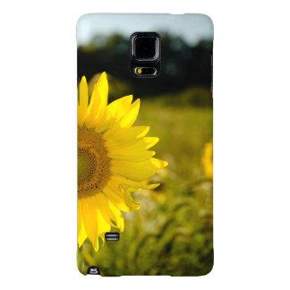 Caso de la nota 4 de la galaxia de Samsung, flora Funda Galaxy Note 4