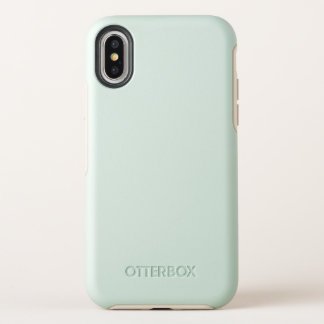 Caso de la simetría del iPhone X de OtterBox Apple