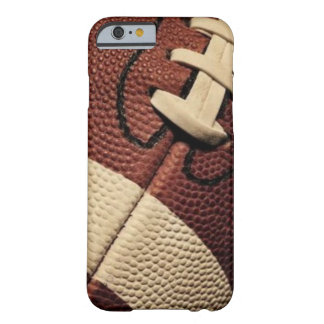 Caso de la textura del fútbol funda barely there iPhone 6