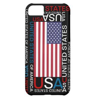 Caso de los Estados Unidos de América los E.E.U.U. Funda Para iPhone 5C