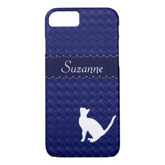 Caso de los gatos de la abrazo funda iPhone 7