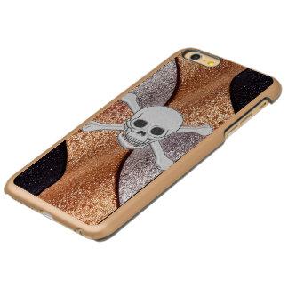 Caso de lujo del iPhone de Incipio del cráneo