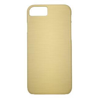 Caso de lujo metálico del iPhone 7 del oro Funda iPhone 7
