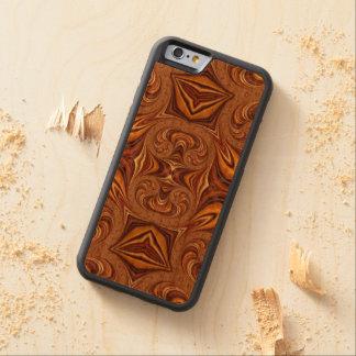 Caso de madera adaptable Iphone6 Funda De iPhone 6 Bumper Cerezo