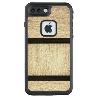 Caso de madera de encargo del diseño para Iphone