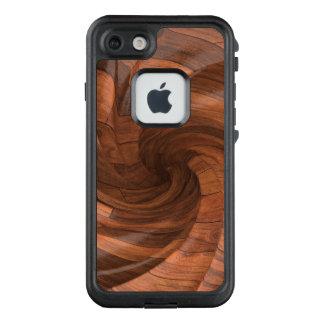 Caso de madera de encargo del diseño para Iphone 7