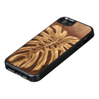 Caso de madera de Otterbox del arte de la mancha Funda Otterbox Para iPhone 5/5s/SE