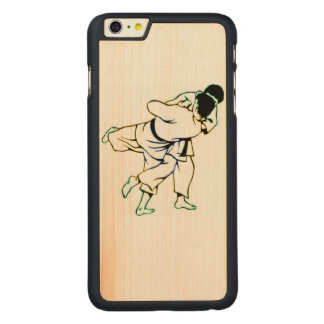 Caso de madera del iPhone 6/6S de Jiu Jitsu Funda Para iPhone 6 De Carved® De Arce