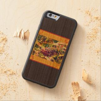 Caso de madera del iPhone del paraíso de la piña Funda Protectora De Cerezo Para iPhone 6 De Carved