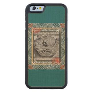 Caso de madera del iPhone del paraíso del coco Funda Protectora De Arce Para iPhone 6 De Carved