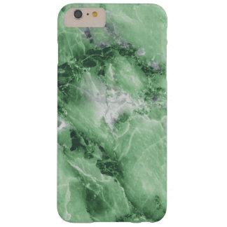 Caso de mármol esmeralda del iPhone Funda Barely There iPhone 6 Plus