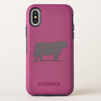 Caso de Otterbox del iPhone del ganado de Aberdeen