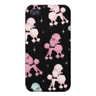 Caso de Poodlerama Iphone 4/4s iPhone 4 Protectores