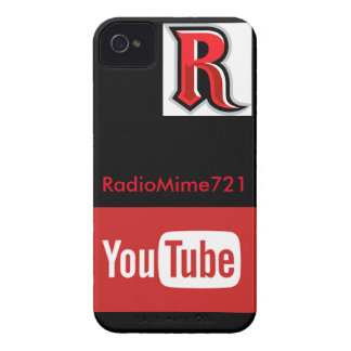 Caso de RadioMime YouTube Funda Para iPhone 4 De Case-Mate