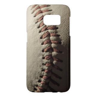 Caso de Samsung S7 del béisbol del vintage Fundas Samsung Galaxy S7