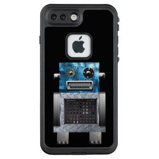 Caso de Sci Fi Iphone del metal del robot