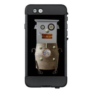 Caso de Sci Fi Iphone del robot del metal de la
