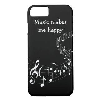 Caso de Smartphone del amante de la música Funda Para iPhone 8/7